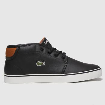 Lacoste Black Ampthill Boys Youth