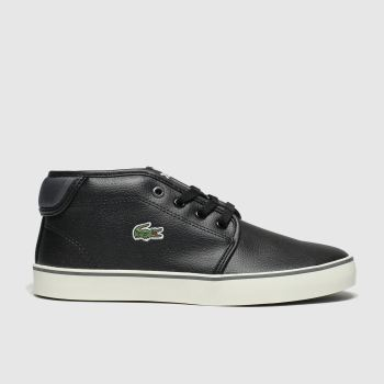 Lacoste Black & Grey Ampthill Boys Youth