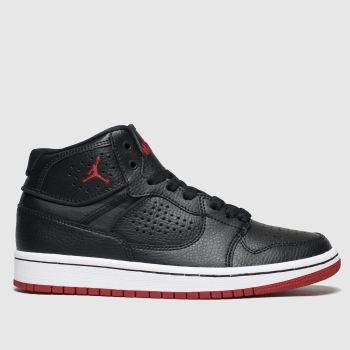 Nike Jordan Black & Red Access Boys Youth