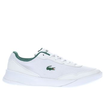 Lacoste White & Green LT SPIRIT Boys Youth