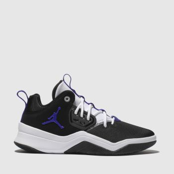 Nike Black & Purple Jordan Dna Boys Youth