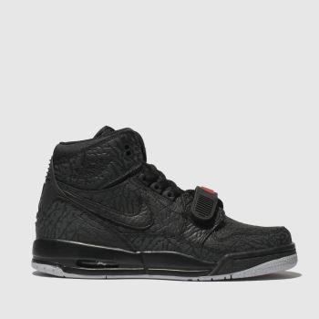 Nike Jordan Black & Red Jordan Legacy 312 Boys Youth