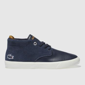 Lacoste Navy Esparre Chukka Boys Youth