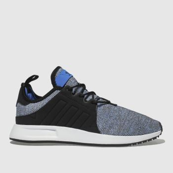 Adidas Black and blue X_PLR Boys Youth