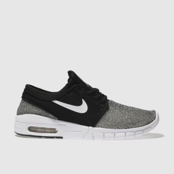 Nike Sb Black Stefan Janoski Max Boys Youth