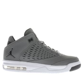 NIKE JORDAN  KHAKI ORIGIN 4 BOYS YOUTH TRAINERS
