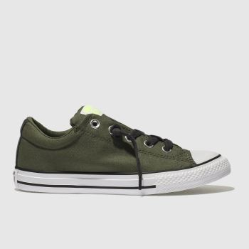 Converse Khaki All Star Street Slip Boys Youth