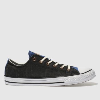 Converse Black Chuck Taylor All Star Lo Boys Youth
