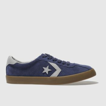 CONVERSE NAVY & GREY BREAKPOINT OX BOYS YOUTH TRAINERS