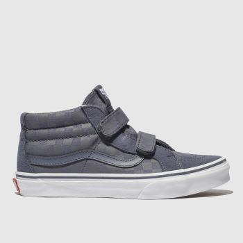 VANS BLUE SK8 MID REISSUE TRAINERS YOUTH