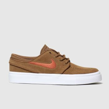 Nike Sb Tan Stefan Janoski Boys Youth