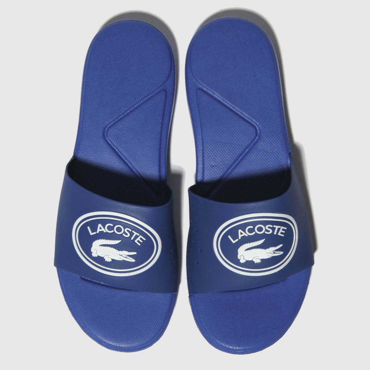 Lacoste Blue L.30 Slide Sandals Youth