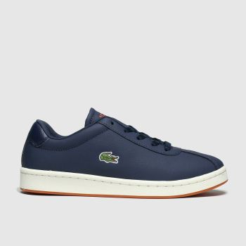 Lacoste Navy & Orange Masters Boys Youth