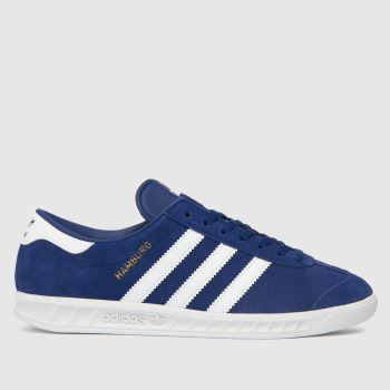 adidas Blue Hamburg Boys Youth