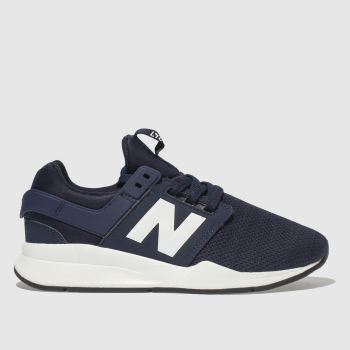 New Balance Navy & White 247 Boys Youth