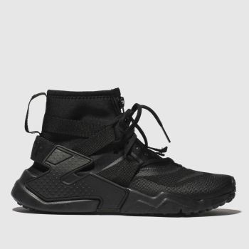 Nike Black Huarache Gripp Boys Youth