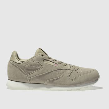 5668605dfa Boys tan reebok classic leather mcc trainers