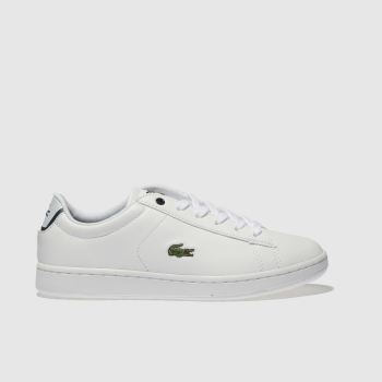 Lacoste White Carnaby Evo Boys Youth