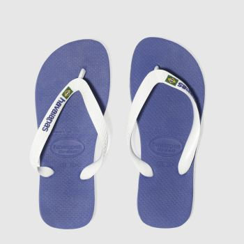havaianas Blue Brasil Logo Boys Youth