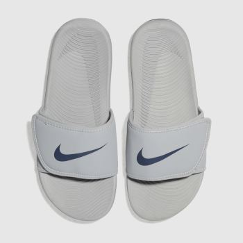Nike Light Grey Kawa Adjust Boys Youth
