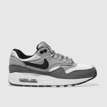 Nike Grey Air Max 1 Boys Youth