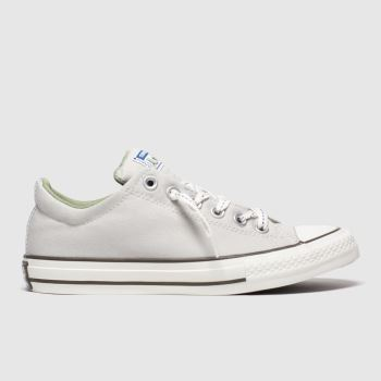 Converse Light Grey All Star Slip Street Boys Youth