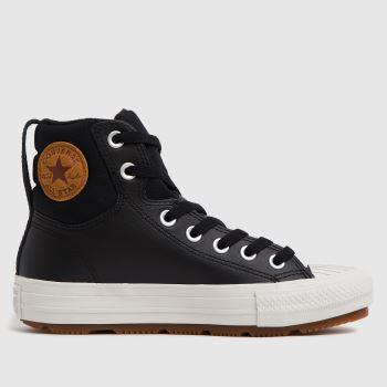 Converse Black Berkshire Boot Boys Youth