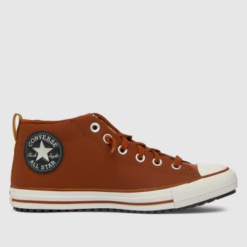 Converse Brown Street Boot Boys Youth