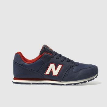 New Balance Navy & Red 373 Boys Youth