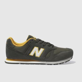 NEW BALANCE KHAKI 373 BOYS YOUTH TRAINERS