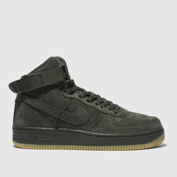 Nike Khaki Air Force 1 High Lv8 Boys Youth