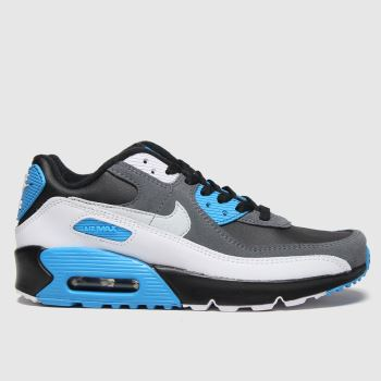 Nike Black and blue Air Max 90 Ltr Boys Youth
