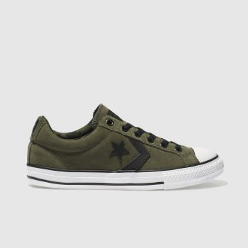 Converse Khaki STAR PLAYER OX Boys Youth