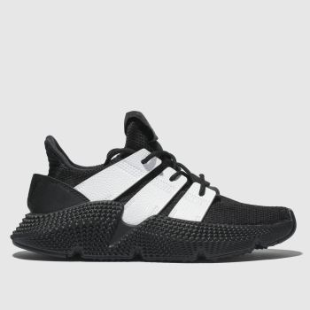 ADIDAS BLACK & WHITE PROPHERE TRAINERS YOUTH