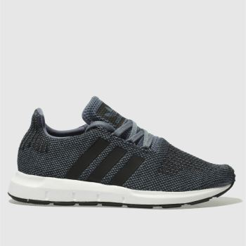Adidas Grey Swift Run Boys Youth