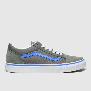 Vans Grey Old Skool Boys Youth