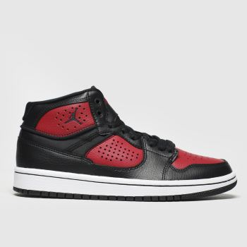 Nike Jordan Black & Red Jordan Access Boys Youth