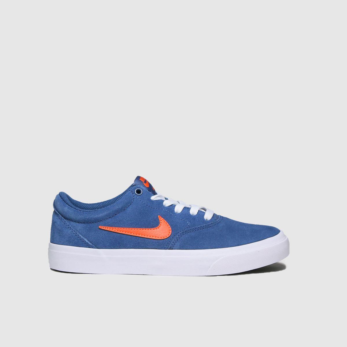 Nike SB Nike SB Blue Charge Trainers Youth
