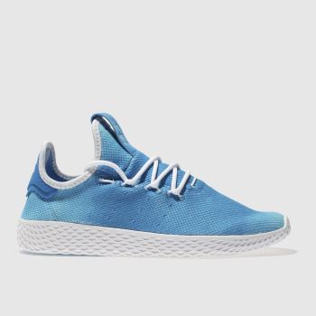 ADIDAS BLUE TENNIS PHARRELL HU HOLI TRAINERS YOUTH