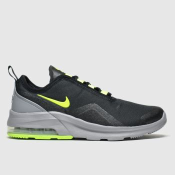 Nike Black & Green Air Max Motion 2 Boys Youth