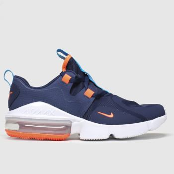 Nike Navy & Orange Air Max Infinity Boys Youth