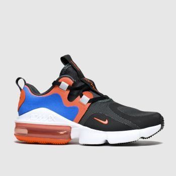 Nike Black & Orange Air Max Infinity Boys Youth