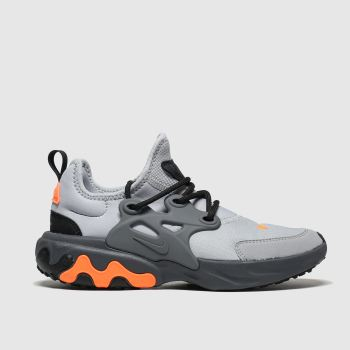 Nike Grey Presto React Boys Youth