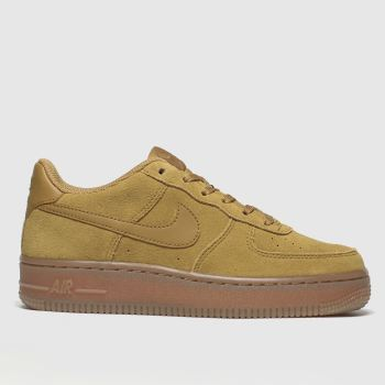 Nike Tan Air Force 1 Lv8 3 Boys Youth