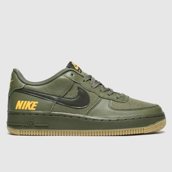 nike khaki air force 1 lv8 5 trainers youth