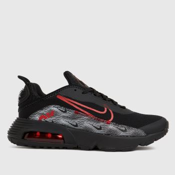 Nike Black & Red Air Max 2090 Boys Youth