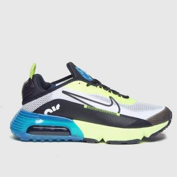 Nike Black & Green Air Max 2090 Boys Youth#