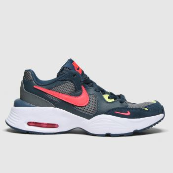 Nike Navy & Red Air Max Fusion Boys Youth