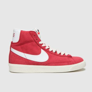Nike Red Blazer Mid Boys Youth#