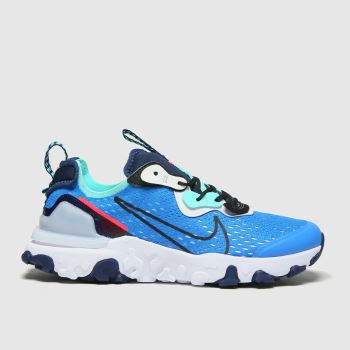 Nike Blue React Vision Boys Youth